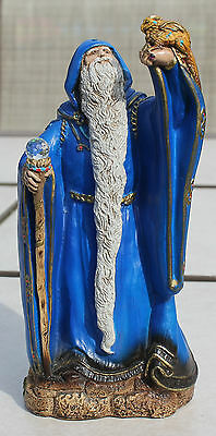 Windstone Editions Small Wizard #602-B Blue Retired