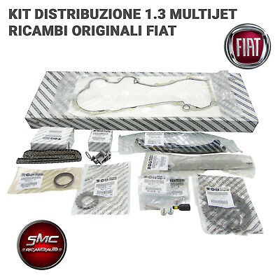 Kit Catena Distribuzione 13 Pz. Fiat 1.3 Multijet Punto Panda Originale 71777824