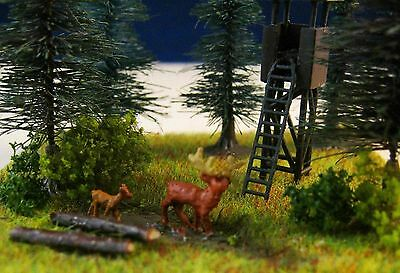 (TH03/01) stag and deer figure Scale Gauge Z (1:220)