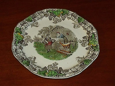 Vintage Copeland Spode Spodes Byron Series1 4 Section Plate