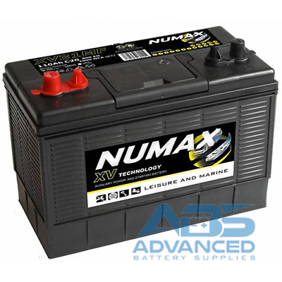 12V 110AH Numax XV31MF Ultra Deep Cycle Leisure Marine Battery 4 years Warranty