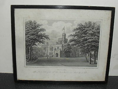 St Clare Ryde Isle of Wight by Geo Brannon 1830 Print