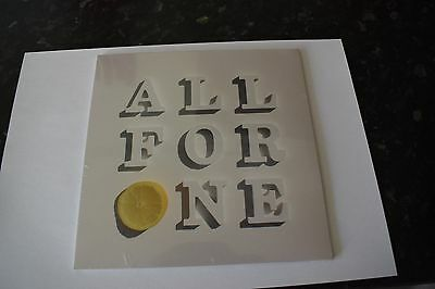 """STONE ROSES All For One 7"""" Record (Sealed/Numbered/Rare)"""