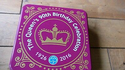 The Queen's 90th Birthday Celebration Tin - Girlguides