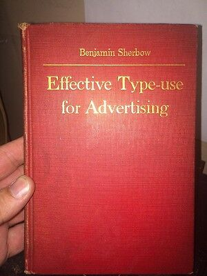 Effective Type-Use For Advertising By Benjamin Sherbow