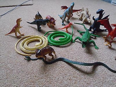 Collection Of Toy Dinosaurs