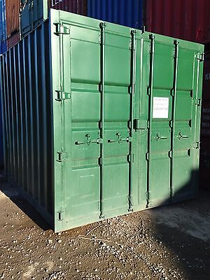 10FT x 8FT STEEL STORAGE SHIPPING CONTAINER FOR HIRE - LANCASHIRE