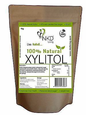 XYLITOL Natural Sugar Alternative | Non-GMO Certified (UK BRAND, EU Sourced)