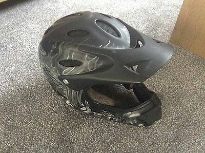 Child's Full Face Cycle Helmet From Halfords