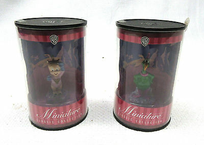 Two NEW Warner Bros. Miniature Classic Marvin Collection Instant Martian Porky
