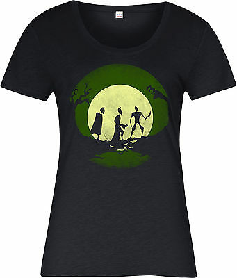 Harry Potter Ladies T-Shirt,Tales of Three Brothers,Deathly Hallows