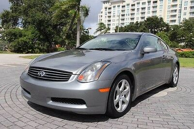 2005 Infiniti G35 Base Coupe 2-Door 2005 Infiniti G35 Coupe ONLY 43K Miles! Clean CARFAX