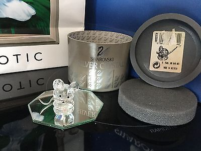 Swarovski Crystal Replica Mouse Retired Mint Boxed