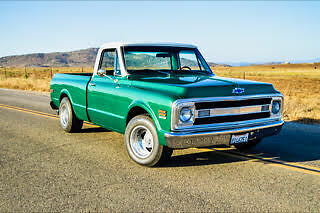 1969 Chevrolet C-10 Two tone / wood bed Chevy C10 Pickup