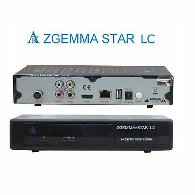 Zgemma Star Lc Cable Tuner Receiver ✔Enigma 2 ✔Iptv ✔12 Months Gift ✔Plug & Play