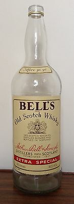 Bell's Old Scotch Whisky Bottle 4.5L Moneybox Collectable VTG