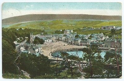 Vintage Postcard. Bantry, Co. Cork.  Used 1907. Ref:63252