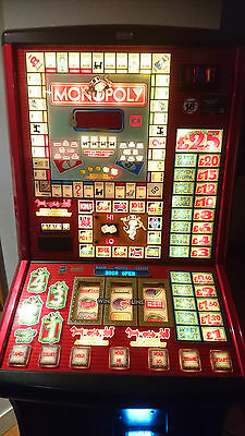 £25 Monopoly FULLY WORKING Bell fruit games Fruit Machine