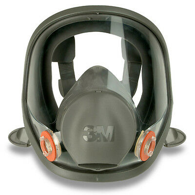 3M 6900S 6000 Series Full Face Reusable Dust Mask Respirator LARGE