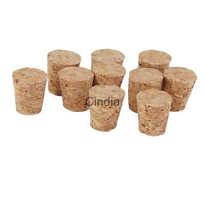 10x Small Tapered WINE BOTTLE BUNGS CORKS for Home Brew Wine Making Bottling