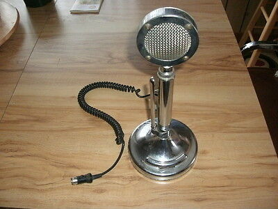 CB Microphone  Astatic Silver Eagle  Tested Works