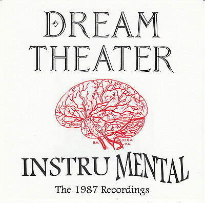 DREAM THEATER 1987 InstruMental Original CD Mike Portnoy Winery Dogs