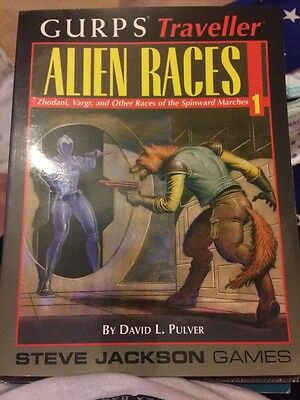 GURPS Traveller Alien Races 1