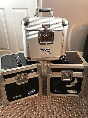 Record Flight Cases X3 In Excellent Condition !!
