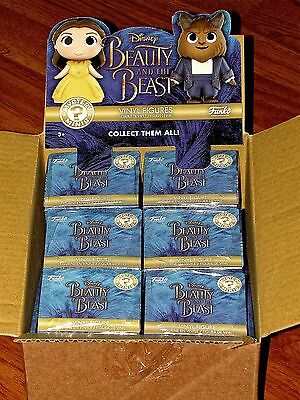 Funko Beauty and the Beast Live Action Mystery Minis Case12 Vinyl Figures SEALED