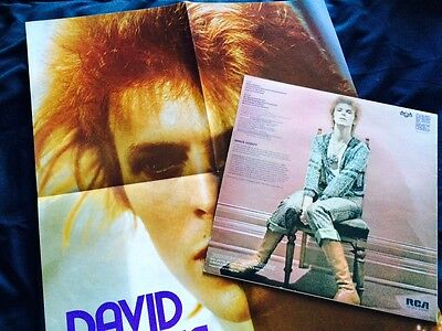 David Bowie - Space Oddity Lp + Poster All Nm