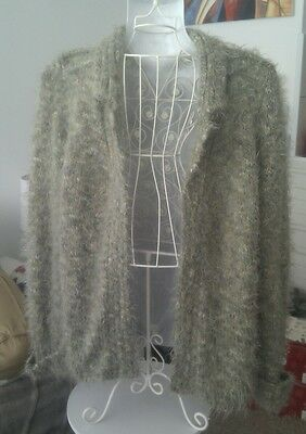 Vintage Adrogyny Grunge Bloggers Fave cardigan olive green 38in Kurt Cobain