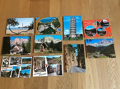 Vintage Postcards - Various From Italy