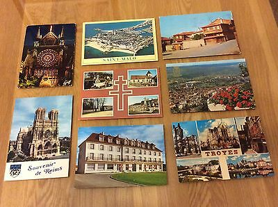Vintage Postcards - Various Scenes From France.