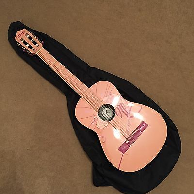 3/4 Sized Acoustic Guitar - Pink Dragonfly - Stagg