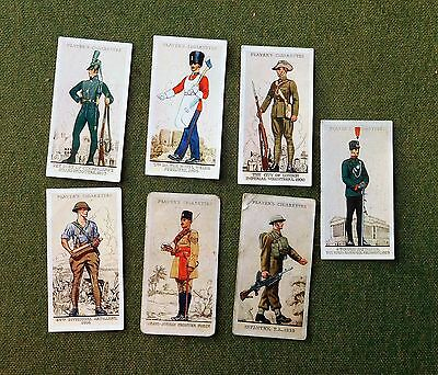 Uniforms Of The Territorial Army 6 Cards, Military 1.card  John Player & Sons