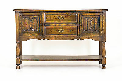 "B381 Solid Oak Sideboard, Server, Hall Table ""Laidler"" of Vancouver"