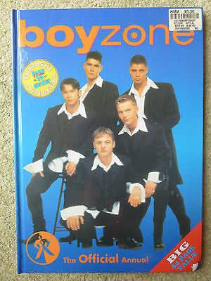 Boyzone The Official Annual, Hardback Book, Very Good Condition, Collectable