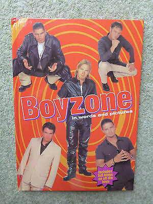 Boyzone in Words and Pictures, Hardback Book, Very Good Condition, Collectable