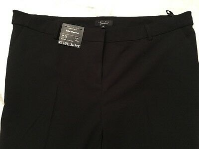 black maternity trousers, size 14, more like 16, brand new tags on, slim bootcut