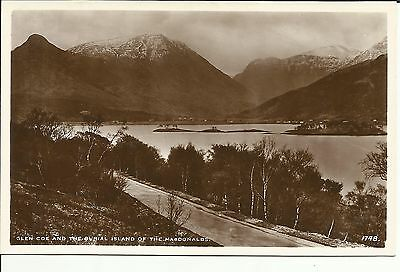 Glen Coe and the Burial Island of the Macdonalds