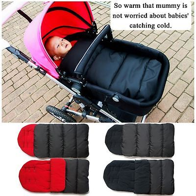 Warm Baby Carriages Strollers Mat Windproof Infant Sleeping Bag Foot Cover