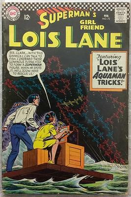 Superman's girlfriend Lois Lane #72 (DC 1967) VG/FN 49 years old. Silver age.