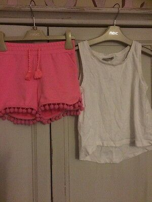 Girls Age 7 Summer Bundle Mostly Next 14 Items