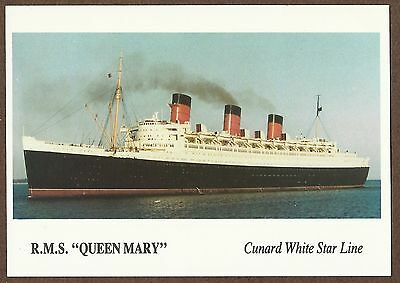Modern Postcard Of Rms Queen Mary