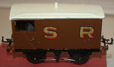 Hornby Series O Gauge Pre War Brake Van With Its Original Box  S R