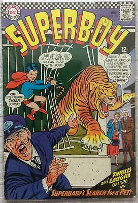 Superboy #130 (DC 1966 1st series) 50 years old. VG+ condition. Silver Age.