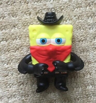 Spongebob Square Pants Pest of the West Burger King Character Toy