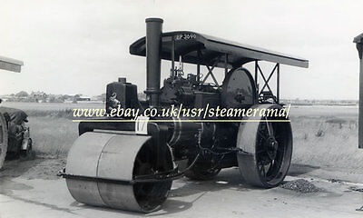 Aveling & Porter 11837 Steam Roller, Steam Traction Engine Photograph