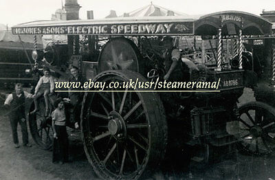 Burrell 2759 Showmans Engine, Steam Traction Engine Photograph