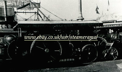 Foster 14386 Showmans Engine, Steam Traction Engine Photograph